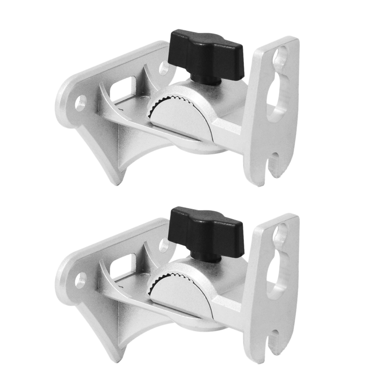 Metal Adjustable Wall Mount Holder For SONOS Play 1 Sound Bar Max Load-Bearing 15KG With Cable Hole