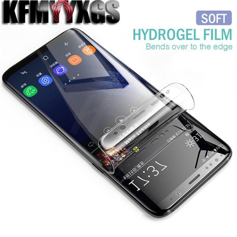 10D Screen Protector Soft Hydrogel Film TPU Full Coverage Film For Samsung A3 2017 A5 2016 2017 A6 Plus 2017 A7 2016 A8 A9 2018