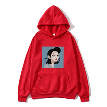 2019 new social Harajuku hoodie girl boy beauty figure print fleece men and women sweatshirt long sleeve autumn winte