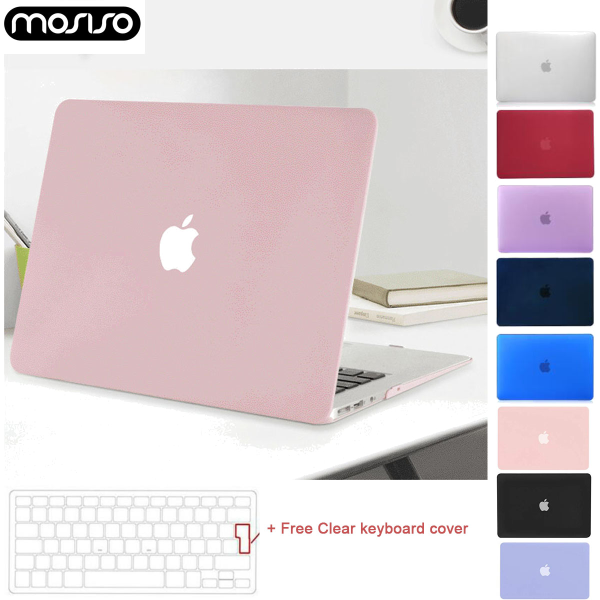 MOSISO A1989 A2159 A1708 A1706 Pro 13 Case 2018 2019 Laptop Shell Cover For New Macbook Air13 Inch A1932 Touch ID Protector Case