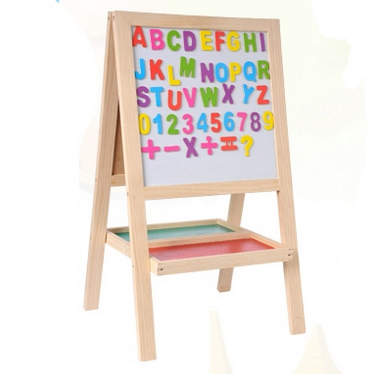 Tong Lok City Large Size Wooden Drawing Board 9227 Writing Board Blackboard Educational Toy CHILDREN'S Toy Mixed Batch