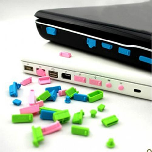13PCS A Set Universal Notebook Anti Dust Plug SDSZ01 Silicone Computer USB Dust Proof Rubber Cover Stopper Laptop Dust Plug