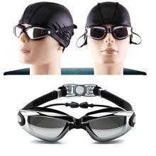 Очки для плавания с гальваническим покрытием уф водонепроницаемые