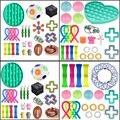 NEUE 30 stile zappeln spielzeug pack set Anti Stress Spielzeug Stretchy Saiten Marmor Relief Geschenk Erwachsene Mädchen Kinder Sensorischen Anti-Stress-spielzeug