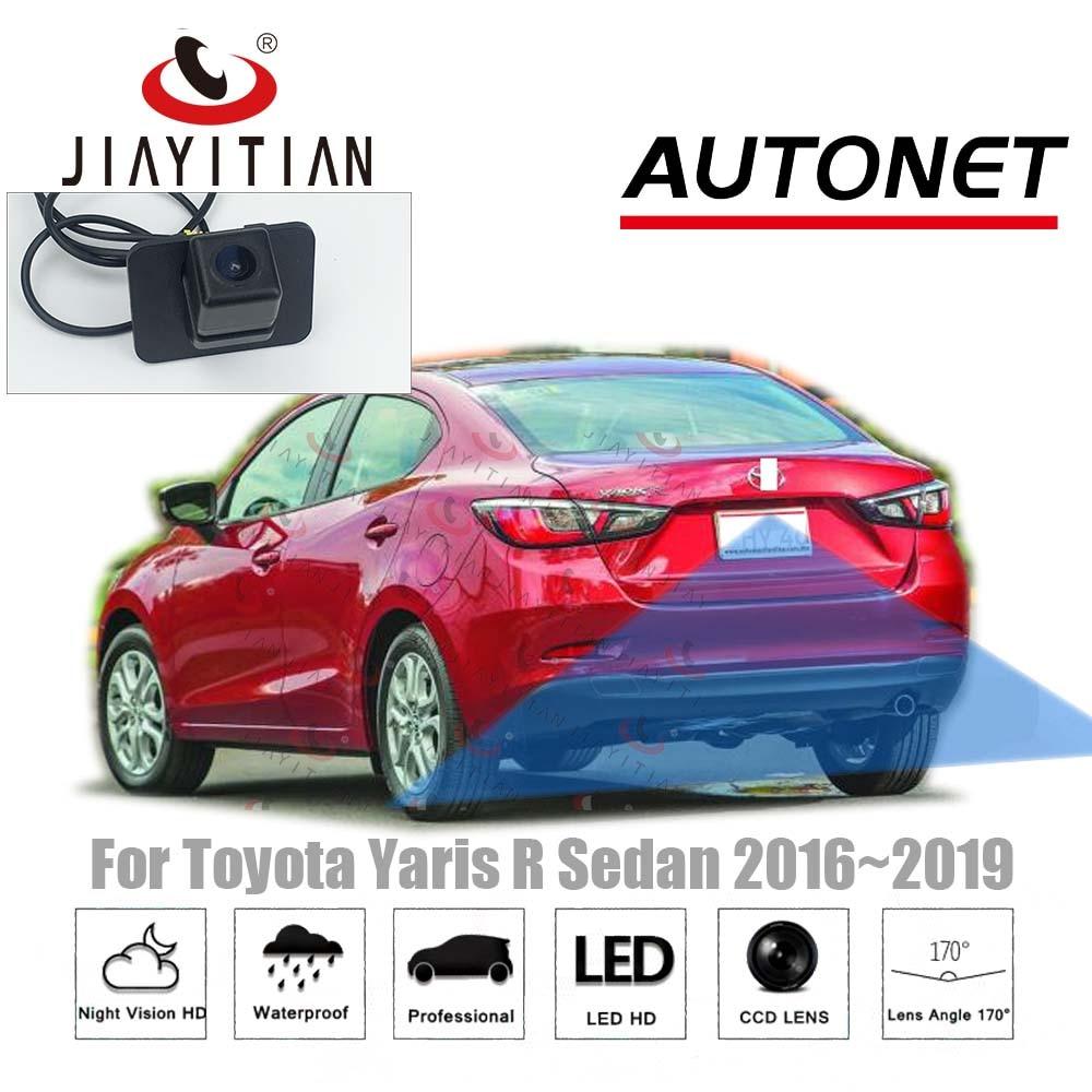 JIAYITIAN For Toyota Yaris R Sedan Mazda 2 Sedan 2016 ~2019 Original Factory Screen Adapter Cable Rear View Camera/kit Backup