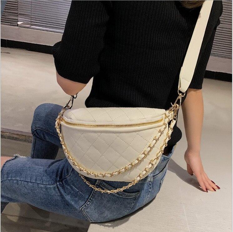 2019 Women Waist Fanny Pack Belt Bag Travel Hip Bum Bag Small Purse Chest Pouch