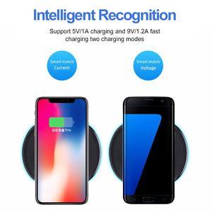 Image 3 - Sạc Nhanh Không Dây 10W Tề Cho Samsung S9 S10 + Lưu Ý 9 8 Gương Sạc Không Dây Bộ Đôi 7.5W cho Iphone X/XS Max XR 8 Plus