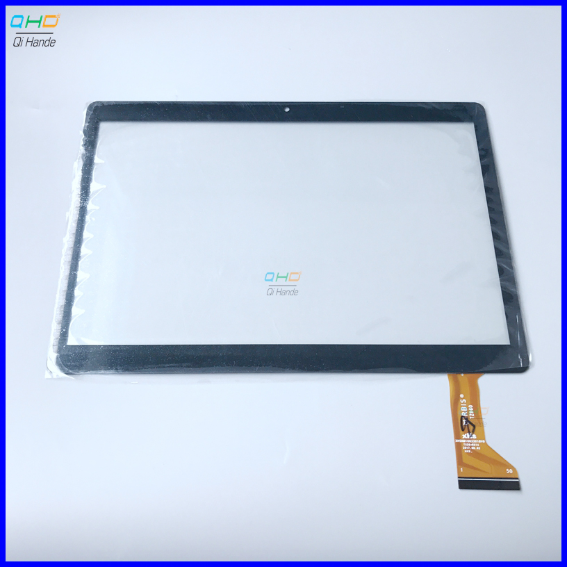 10pcs/lot 9.6'' inch for TZ968 tablet <font><b>Touch</b></font> Screen Digitizer lens XHSNM1003302BV0 / tempered glass protector film 220*155mm image