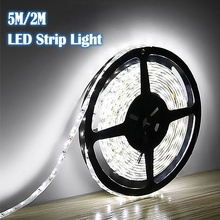 Night-Lamp Led-String Cool Home-Decoration White Outdoor 12v 2835 Flexible SMD RGB 2M/5M