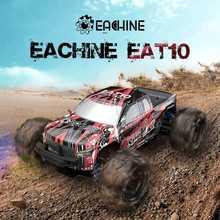 Eachine-coche todoterreno teledirigido EAT10 1:18, camión sin escobillas/cepillado, 4WD, alta velocidad, 42 Km/h, todos los terrenos, vehículo monstruo eléctrico