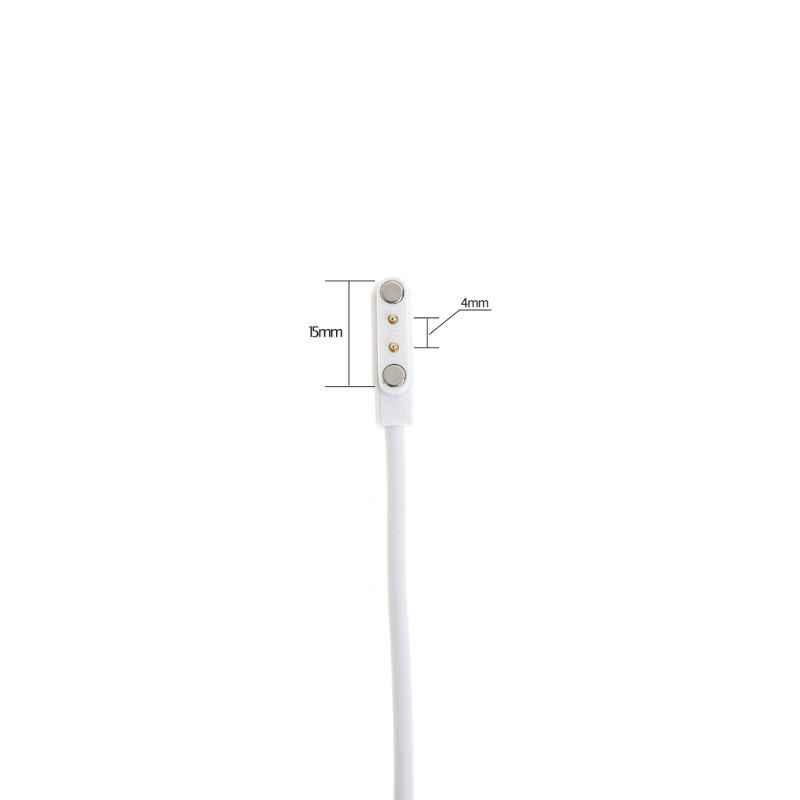 Magnetische Ladung Ladekabel Für Smart Uhr mit Magnetics Stecker Für 2 Pins Entfernungen 4mm Schwarz Neuartige Power Ladegerät kabel