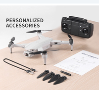 L900 PRO GPS Drone 4K Cámara Dual de HD Motor sin escobillas GPS 5G WIFI FPV plegable RC Quadcopter helicóptero Quadcopter RC helicóptero distancia 1200M profesional Drone
