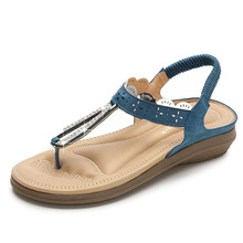 =Summer Women Casual Flats Gladiator Sandals Shoes