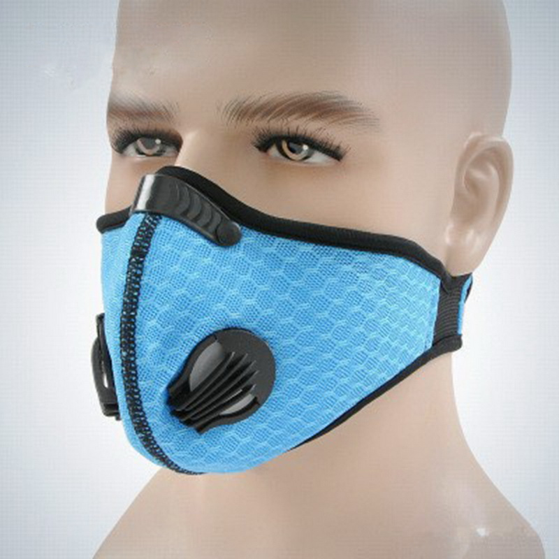 Filter Activated Carbon  2.5 Anti-Pollution Running With Cycling Mask KN95 Antiviral Coronavirus Sport Face Mask 6