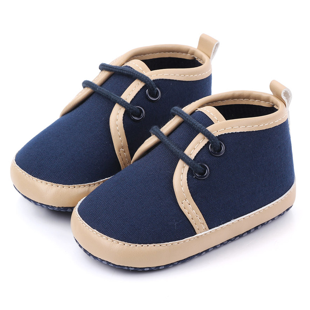 Men's And Women's Baby Shoes Solid Color Front With Soft Bottom Slip Kids Shoes Туфли Детские