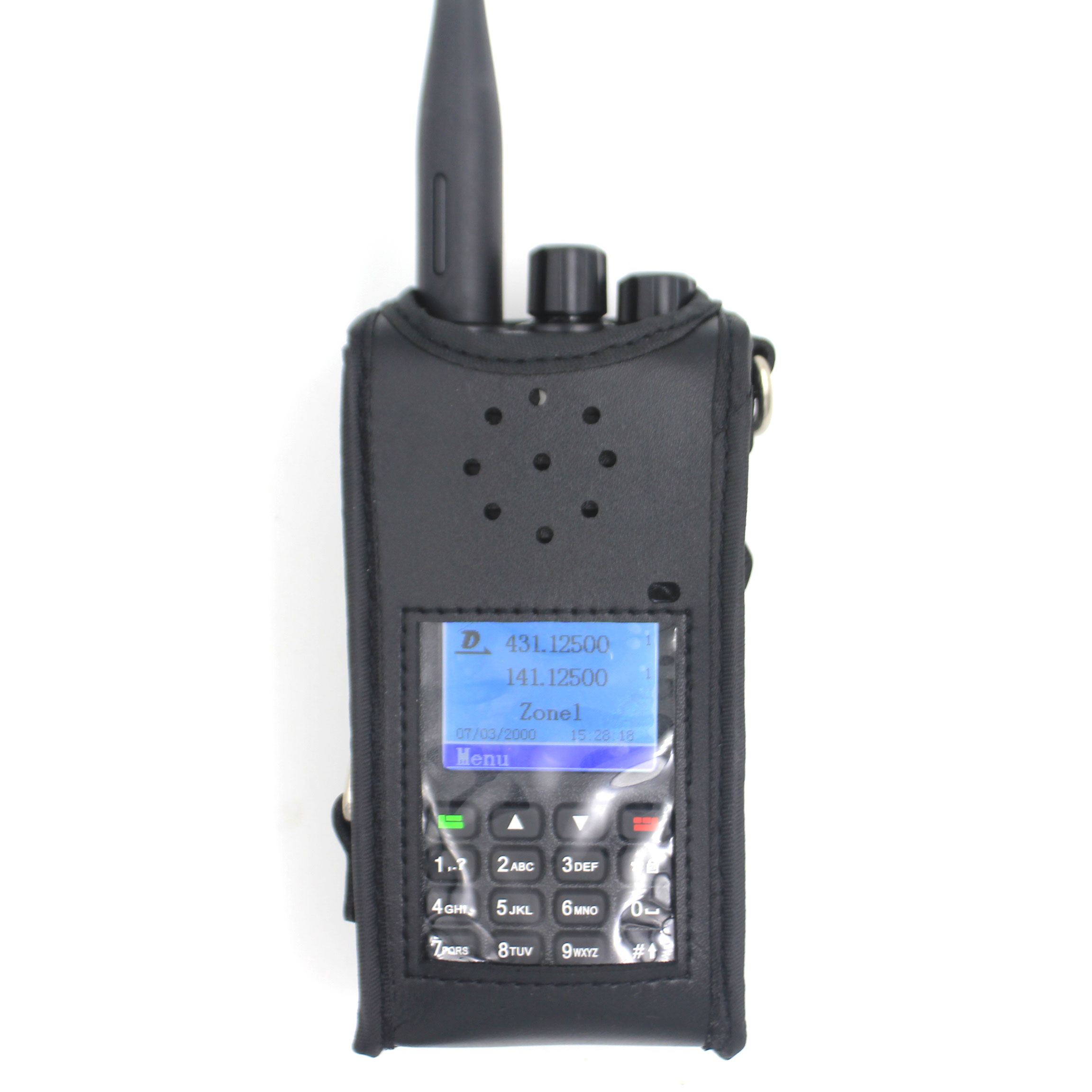 Portable Radio Case For TYT MD-UV380 MD-UV390 Baofeng UV-9R Plus BF-A58 BF-9700 GT-3WP PVC Protect Bag For UV-5S Walkie Talkies