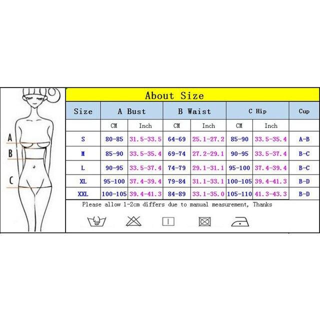 Push Up Women Swimwear One Piece Swimsuit Female Solid Monokini Bandage Swim Suits Sexy Bathing Suit Swimming Beachwear Monokini 6