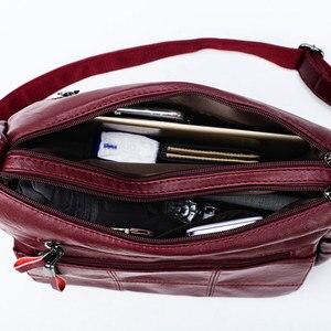 Image 5 - デザイナーの豪華な女性ハンドバッグ女性のクロスボディバッグ女性のため2019ソフトレザーショルダーバッグのためのメイン