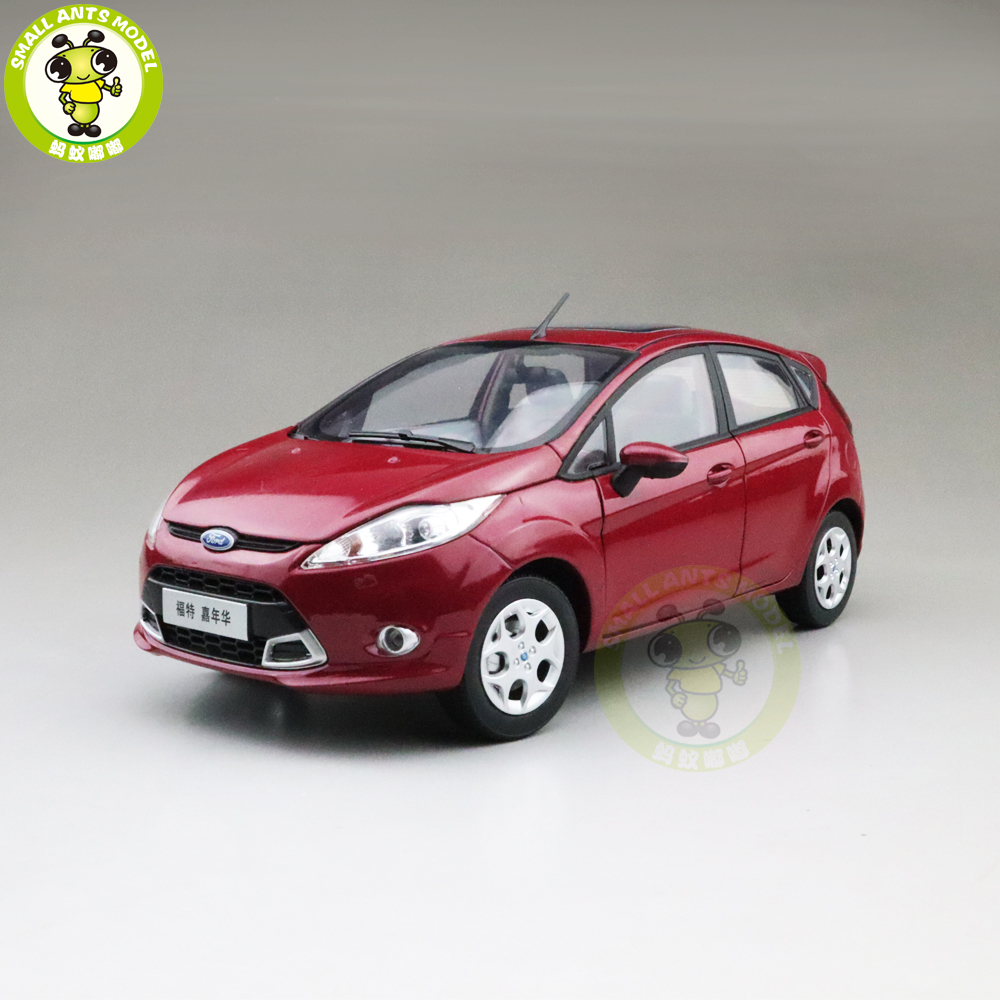 1/18 Ford Fiesta 2011 Diecast Metal Model Car Toys Boy Girl Gifts