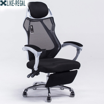 Mesh back office chair swivel function gas lift height adjustment base stainless steel with wheels mesh chair swivel office chair high back gas lift armchair rolling legs office furniture hot sale