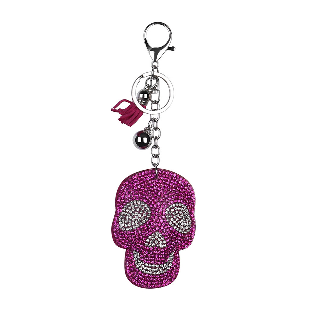 Брелок для ключей на Хэллоуин, брелок с расцепной брелок, брелок с бриллиантами, подарок на Хэллоуин - Цвет: D