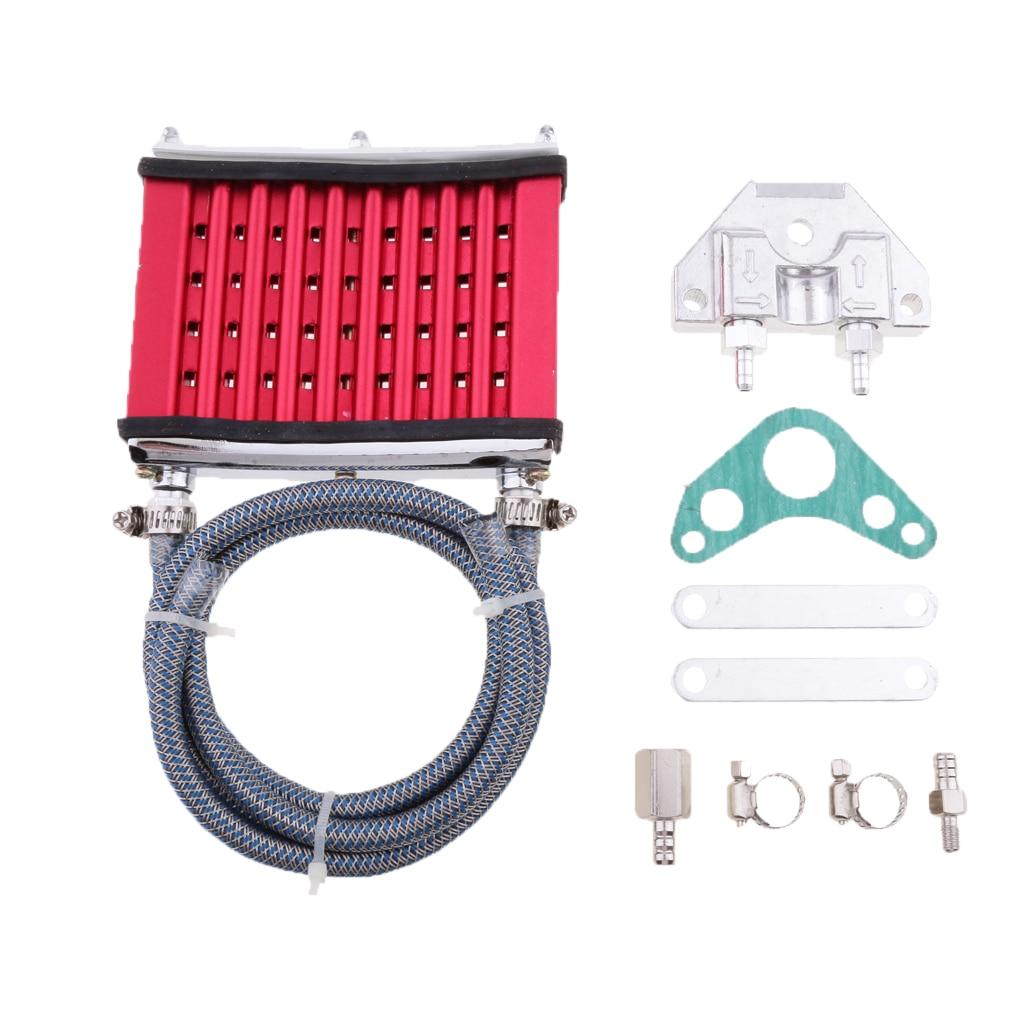 Oil Cooler Radiator For 50cc 70cc 90cc 110cc 125cc Dirt Pit Bike ATV Quad