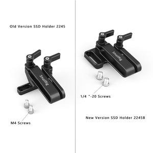 Image 3 - SmallRig מצלמה Rig הר עבור Samsung T5 SSD עבור Blackmagic עיצוב כיס קולנוע מצלמה 4K / 6K SmallRig כלוב 2245