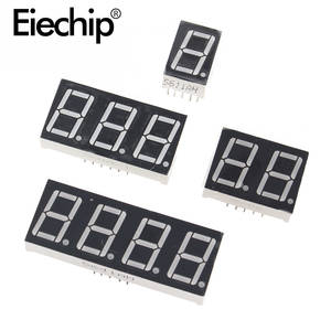 0.36 inch 1234 bit LED display 7 Segment Common Cathode  Anode 1234 Digit 0.36inch Display Tube Red 7Segment LED Display