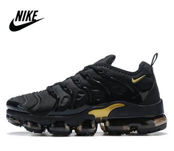 Original Nike Air Max Vapormax Plus TN Vascular Atmosphere Cushion Men's Air Cushion Running Shoes Size 40-46 924453-002