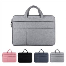 Мужская и женская сумка для ноутбука 13, 14, 15, 15,6, водонепроницаемый чехол для ноутбука, сумка для компьютера, Apple Macbook Air, ProXiaomi, Huawei, портфель