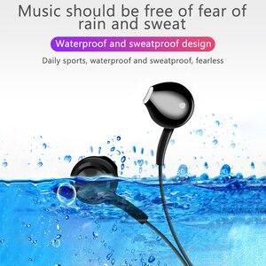 Image 2 - Écouteurs Bluetooth, écouteurs mains libres sportifs, écouteurs sans fil, casque magnétique avec Microphone pour téléphones portables Xiaomi