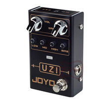 JOYO R-03 UZI Distortion Pedal Guitar Effect Pedal for Heavy Metal Music With BIAS Knob True Bypass Guitar Bass Accessories nux pt 6 chromatic pedal tuner with metal casing true bypass guitar accessories music instrument