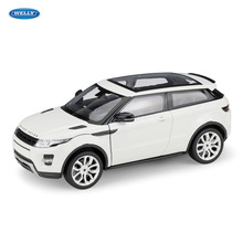 welly 1:24  Land Rover Range Aurora car alloy model simulation decoration collection gift toy Die casting