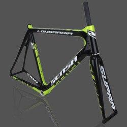 SENSA T800 700C BB68 нить высокого качества новые карбоновые рамы велосипеда гоночный велосипед набор 56/58/60/62 мм большие размеры большой высоте