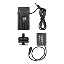 цена на NP-W126 Dummy Battery Coupler With Straight Cable + NP-F970 F750 Battery Plate Holder for Fuji Cameras X-A1/X-A2/X-A3/X-E1/X-E2/