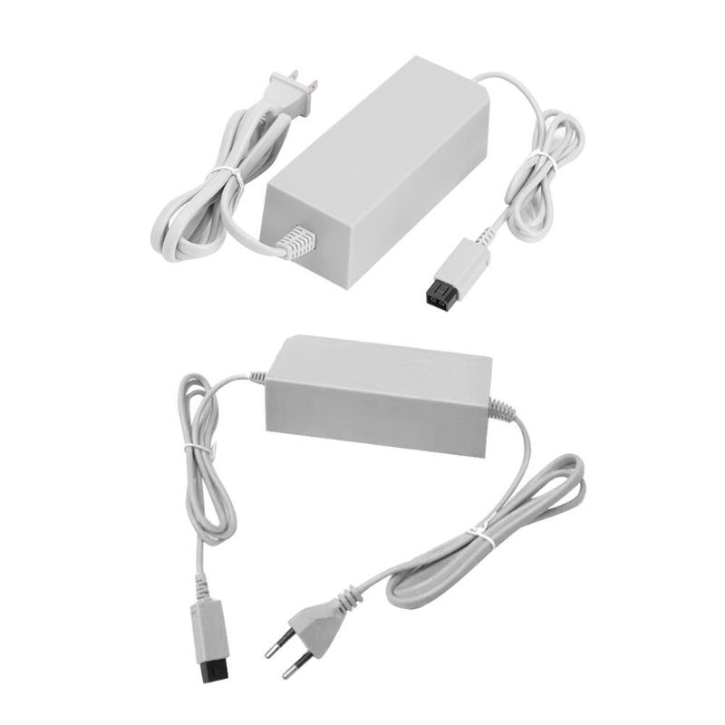 AC100-245V Input DC12V 3.7A Output Power Adapter Charging Charger For Wii Console AC Power Adapter Cable For Nintend Wii Console