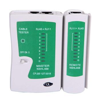 Network Lan Cable Tester Test Rj45 Rj-11 Cat5 Utp Ethernet Tool Cat5 6 E Rj11 8P Portable Network Cable Tester 1