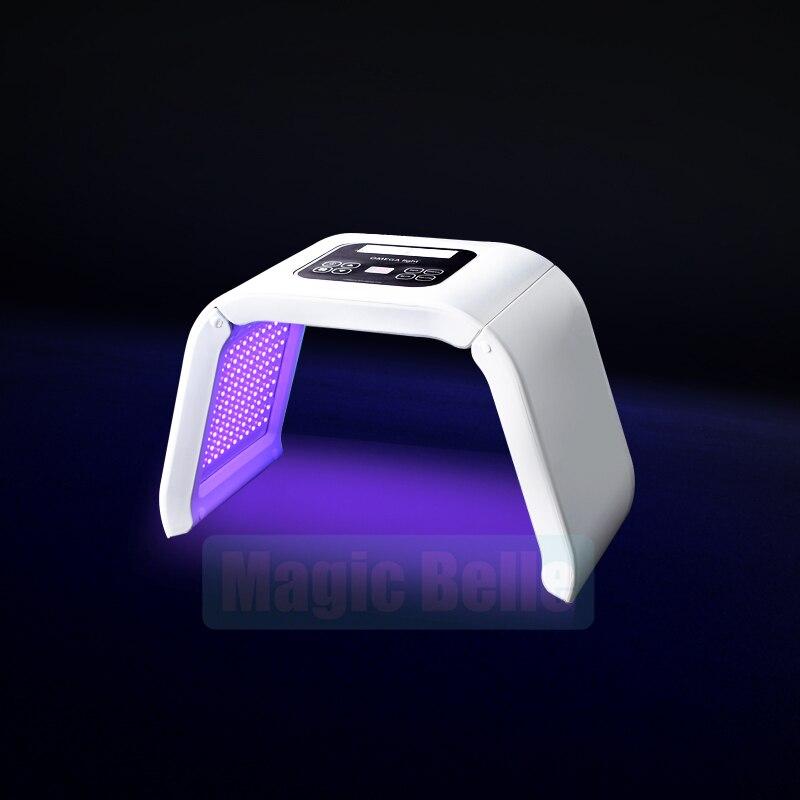 7 colors shrink pores/eliminate face wrinkles/improve oily skin LED light machine - 5