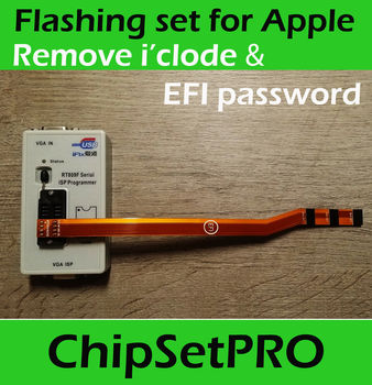 Debug RT809F SPI FLASH EFI ROM for Apple MacBook J6100 Air Pro 2017 Service tool PRO