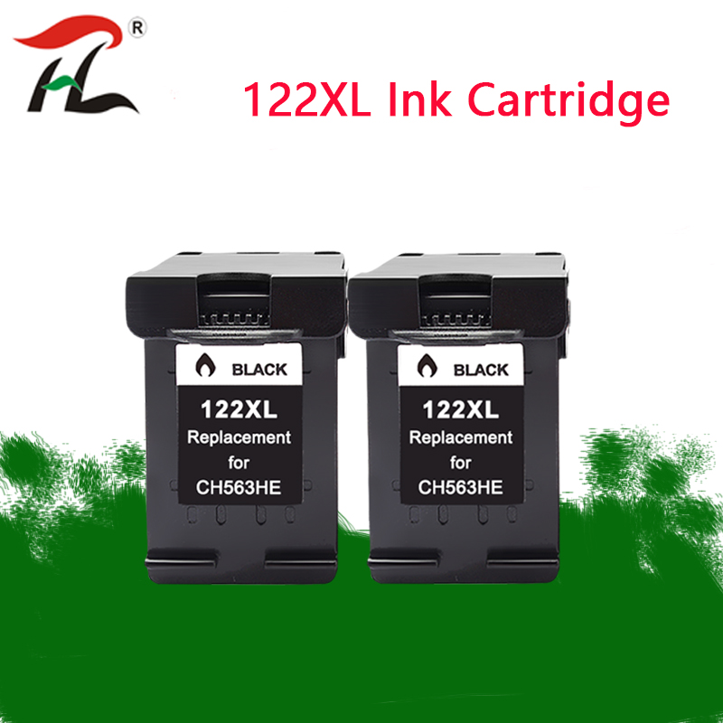 Compatible For <font><b>HP122XL</b></font> 122XL 122 ink cartridges HP 122 XL hp122 For HP Deskjet 1000 1050 1050A 1510 2000 2050 3000 3050 Printer image