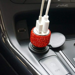 New 1Pcs Dual USB Car Charger