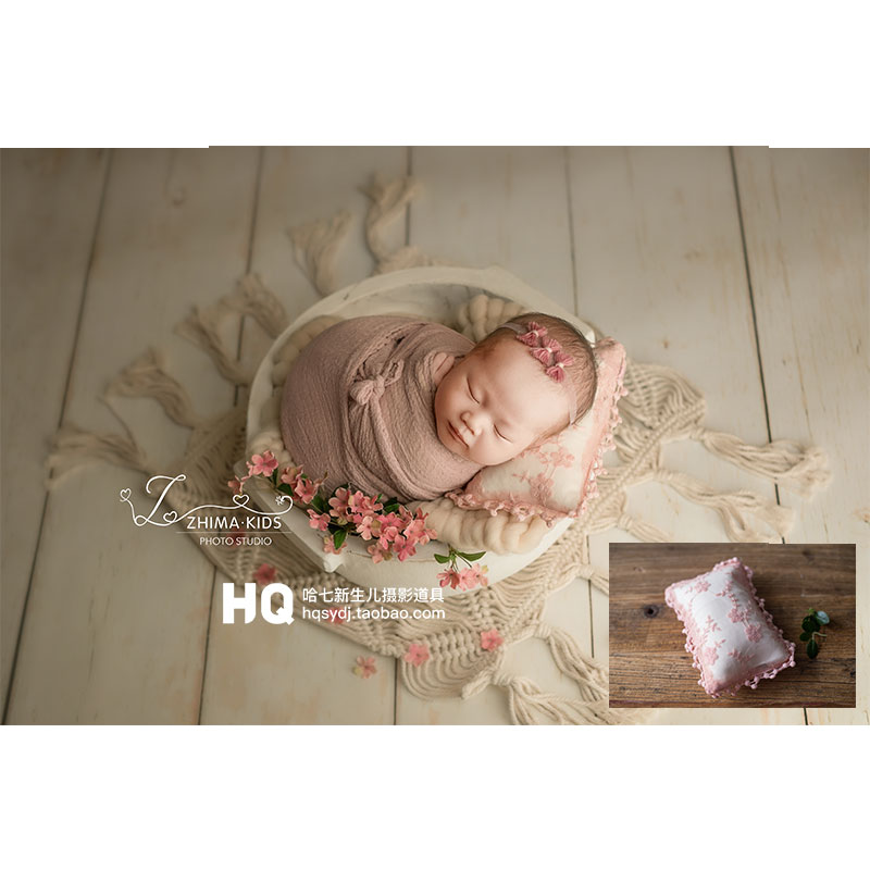Newborn Photography Pillow Baby Photoshooting Props INfant Photo Shot Studio Accessories