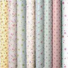 10m * 45cm dzieci koreański tapeta z PVC samoprzylepna wodoodporna naklejka ścienna dla dzieci Creeper sypialnia ciepłe europejskie małe kwiaty