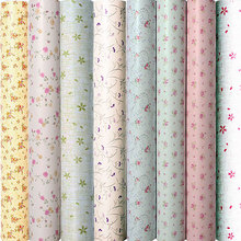 Papel tapiz de PVC para niños, autoadhesivo, impermeable, enredadera, dormitorio, cálido, Europeo, 10m x 45cm