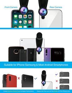 Image 5 - Tokohansun hd 7in1カメラ電話レンズ4 18kワイドマクロレンズ肖像スーパー魚眼レンズcplフィルターiphone 7 8サムスンのスマートフォン