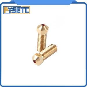 Image 5 - Hoge Temperatuur V6 Vulkaan Ruby Nozzle 0.4mm Nozzles Compatibel PETG ABS PET PEEK NYLON Voor E3D Vulkaan Hotend 1.75mm Filament