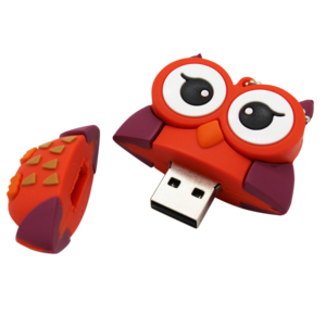 Image 5 - TEXT ME 64GB cute cartoon Penguin owl fox style usb flash drive usb 2.0 4GB 8GB 16GB 32GB vreative pendrive gift