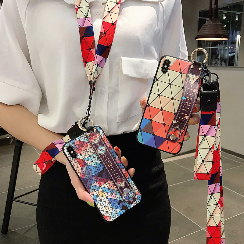 For Samsung Galaxy A10 A20 A30 A30s A50 A50s A70 A71 A51 Wrist Strap Case For Samsung S10 S9 S8 S20 Plus Ultra Note 8 9 10 Plus