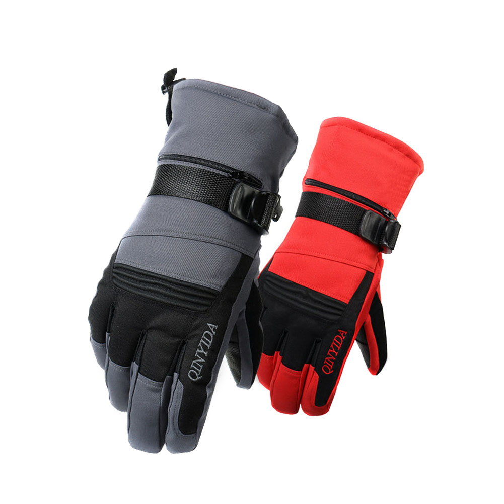 Men Touchscreen Gloves Winter Warm GlovesThermal Fleece Lined Windproof Cold Weather Gloves Snow Boarding Running Driving Skiing