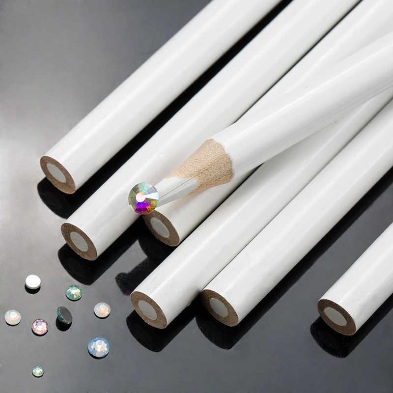 DIY el yapımı araçları Nail Art Rhinestones toplama kalem taşlar kalem sıcak düzeltme yapay elmas Pick Up kalem ile dize kabuğu kalemler y2857
